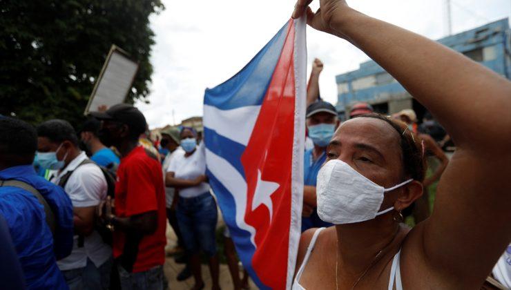 Küba'da hükümet karşıtı gösteri