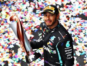 F1 Büyük Britanya Grand Prix'sinde zafer Hamilton'ın