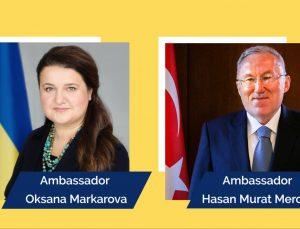 ABD'nin Ukrayna Büyükelçisi'nden Türk mevkidaşı Mercan'a ziyaret