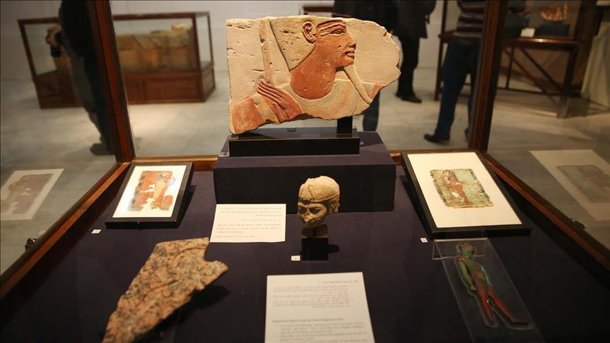 Mısır'dan kaçak yollarla çıkarılan tarihi heykel Hollanda'da bulundu