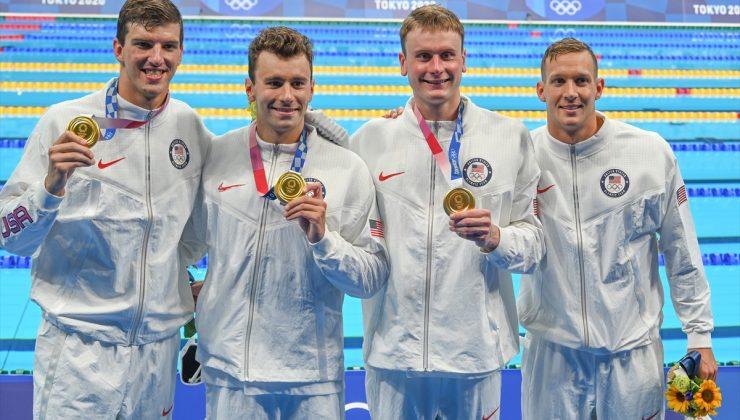 Tokyo Olimpiyat Oyunları'nda ABD'ye altın madalya