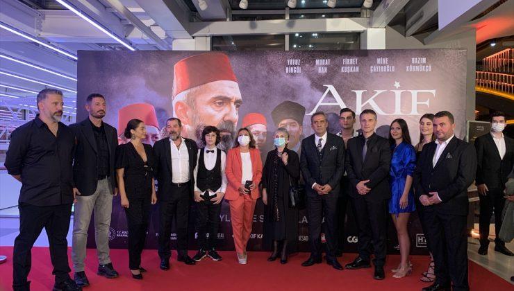 """""""Akif"""" filminin galası İstanbul'da yapıldı"""