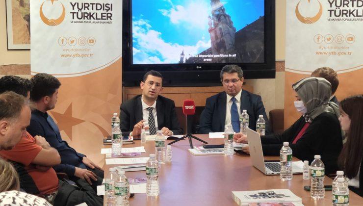 YTB'den ABD'deki Türklere 'kamu hizmetleri' bilgilendirmesi