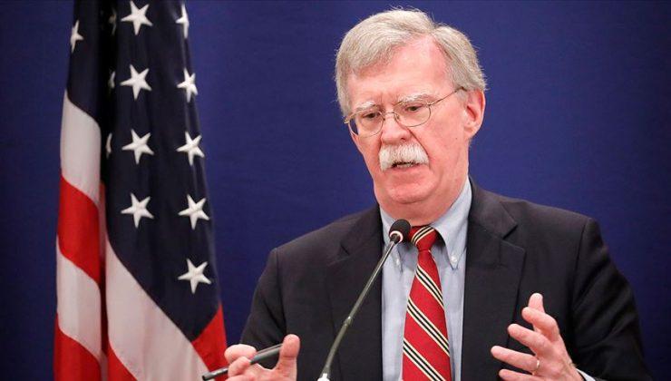 John Bolton: Taliban nükleer silah istiyor