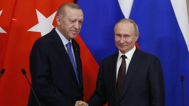 Soçi'de Erdoğan-Putin zirvesi