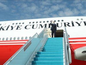 Cumhurbaşkanı Erdoğan Angola'dan ayrıldı