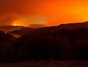 California'da yangın: Olağanüstü hal ilan edildi